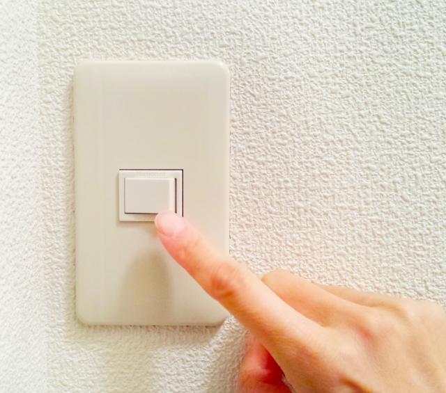 スイッチの取り付け場所は?電気代節約で照明をLEDに交換!