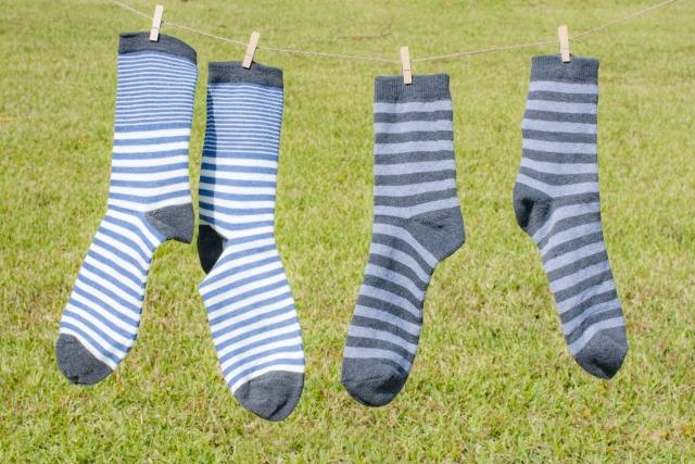 靴下などの衣類の洗濯での毛玉を防ごう!正しい洗濯方法は?