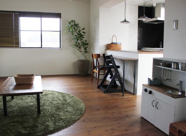 2Kを1人で使う時のインテリアとは?家具の配置はどうする?