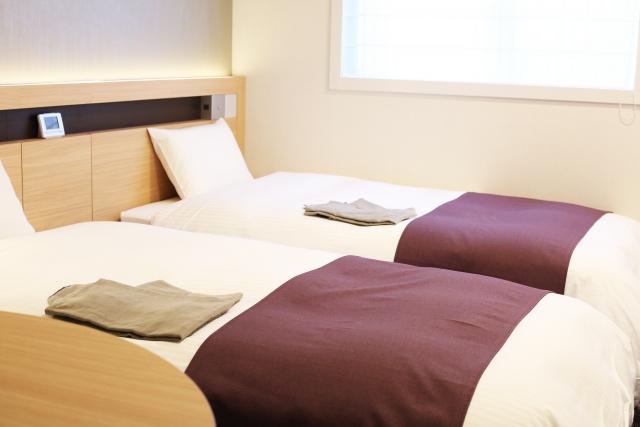 ビジネスホテルのお部屋タイプとベッドサイズ!特徴と選び方