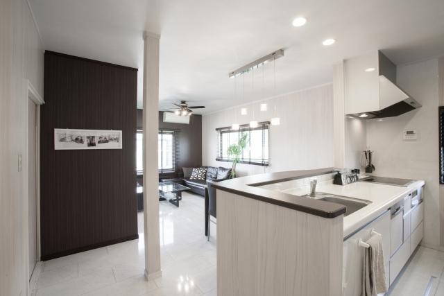新築のキッチン照明はおしゃれなダウンライトがおすすめ!